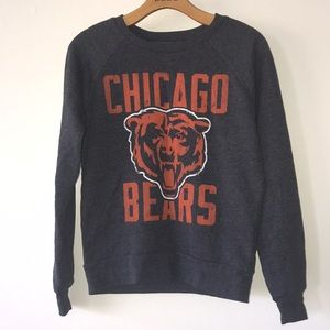 NEW Ladies Chicago Bears Sweater-NFL Apparel-XS